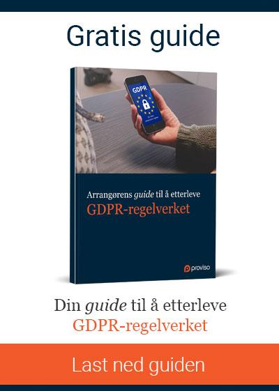 Din guide til å etterleve GDPR-regelverket