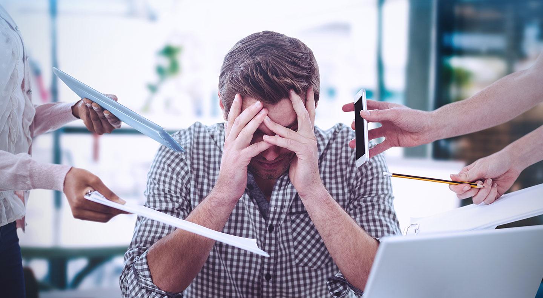 Stresset eller rolig når arrangementet ditt nærmer seg?