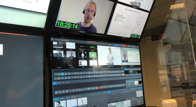 Proviso var digital prosjektleder for MS-forbundets digitale konferanse om MS, covid-19 og vaksine