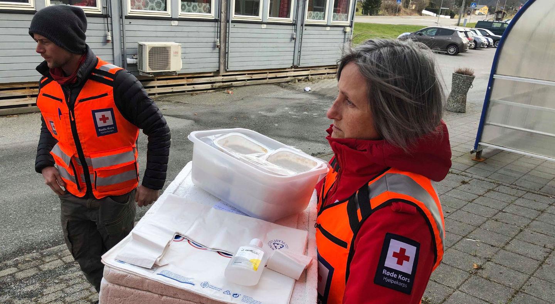 Proviso hjelper Røde Kors med å digitalisere årets julelunsj